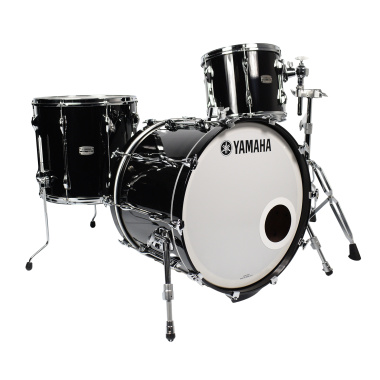 Yamaha Recording Custom 22in 3pc Shell Pack – Solid Black