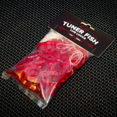 Tuner Fish Lug Locks Red 50 Pack