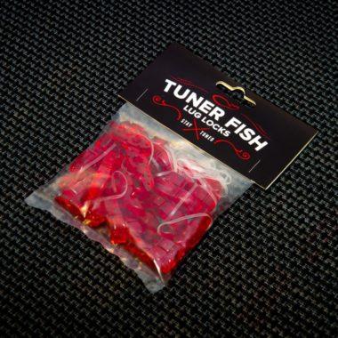 Tuner Fish Lug Locks Red 24 Pack