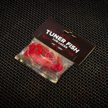 Tuner Fish Lug Locks Red 8 Pack