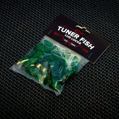 Tuner Fish Lug Locks Green 24 Pack