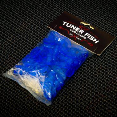 Tuner Fish Lug Locks Blue 50 Pack