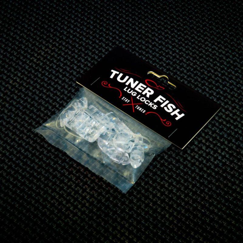 Tuner Fish Lug Locks Clear 8 Pack