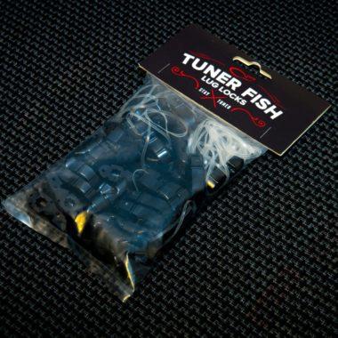 Tuner Fish Lug Locks Black 50 Pack