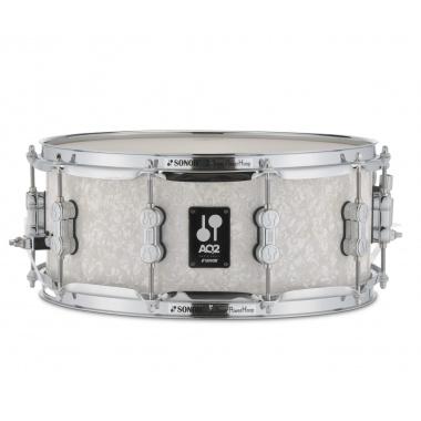 Sonor AQ2 14x6in Maple Snare Drum – White Pearl