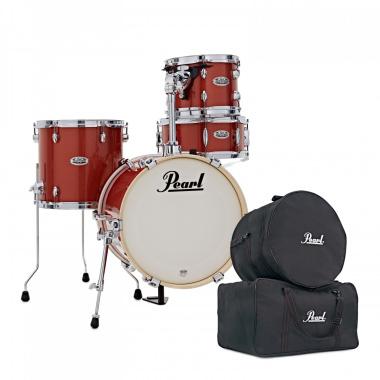 Pearl Midtown 4pc Shell Pack w/FREE Bag Set – Orange Crush