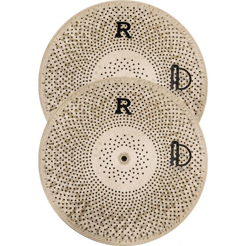 Agean Flat R Low Noise Cymbal Set, X-Tra Silent
