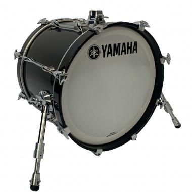 Yamaha Recording Custom 18x14in Bass Drum – Solid Black