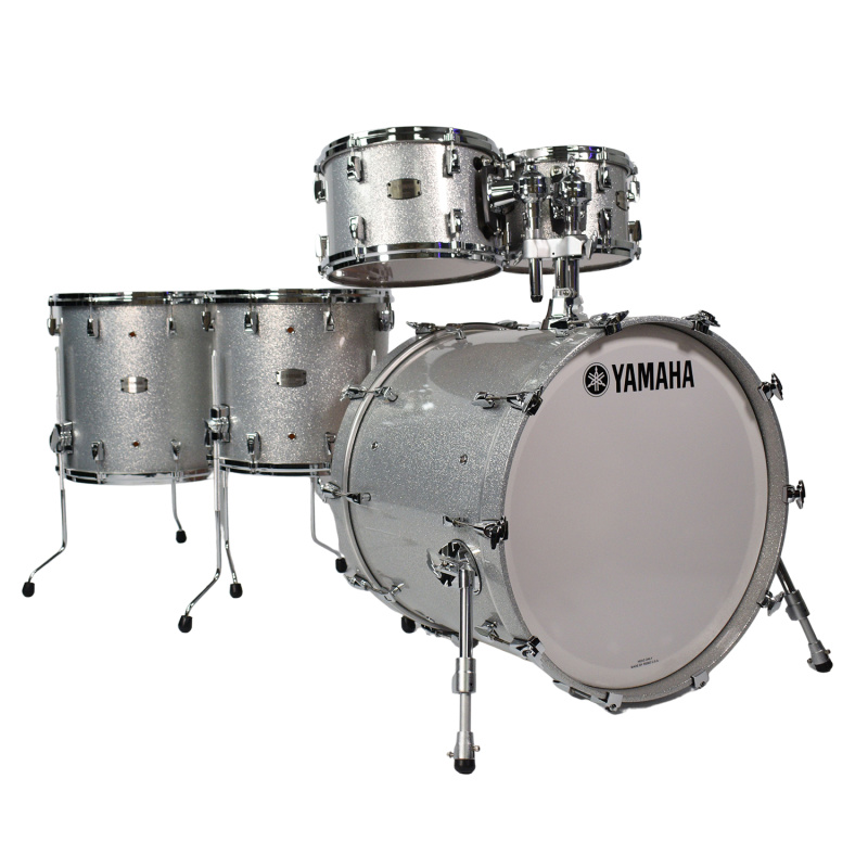 Yamaha Absolute Hybrid Maple 22in 5pc Shell Pack – Silver Sparkle