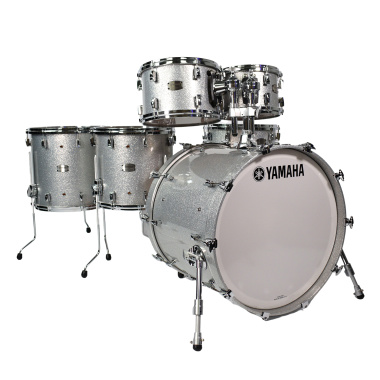 Yamaha Absolute Hybrid Maple 22in 6pc Shell Pack – Silver Sparkle