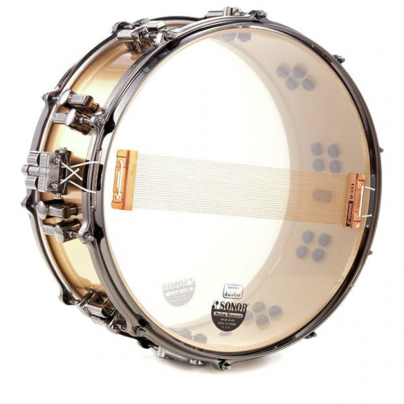 Sonor Artist Series 14x6in Cast Bronze Snare With Black Hardware