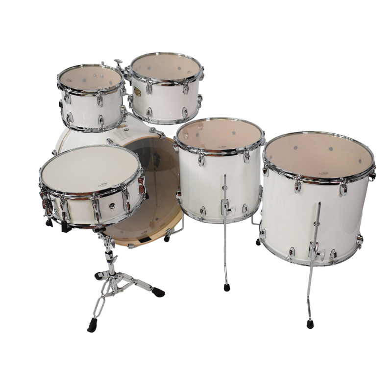 Yamaha Stage Custom Birch 22in 6pc Shell Pack – Pure White