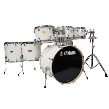 Yamaha Stage Custom Birch 22in 7pc Shell Pack – Pure White