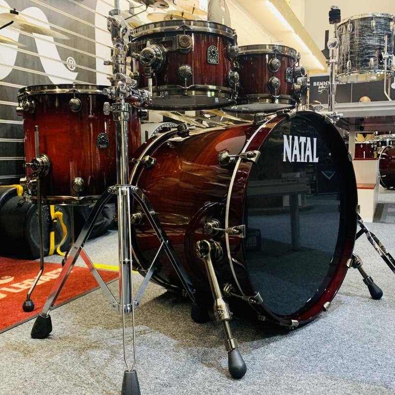 Natal Originals Walnut 22in UFX Shell Pack – Sunburst