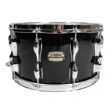 Yamaha Recording Custom 14x8in Snare, Solid Black – Pre-owned