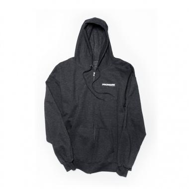 Promark Zip-Up Grey Hoodie – Medium