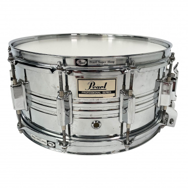 Pearl Professional Series 14×6.5in Steel Snare – Pre-owned