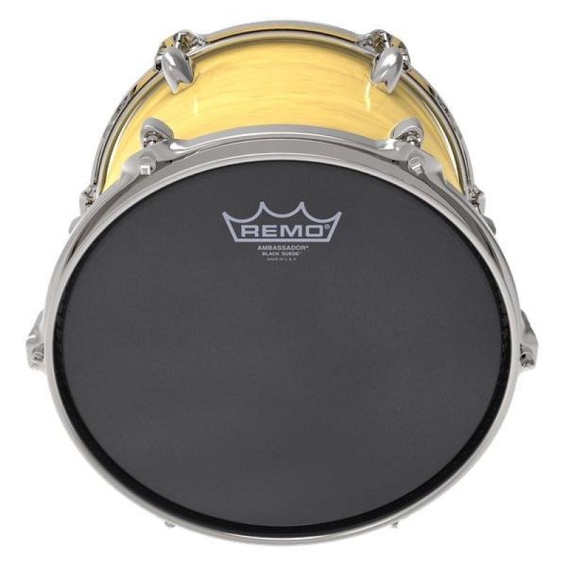 Remo Ambassador Black Suede 10in Drum Head