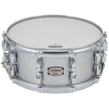 Yamaha Absolute Hybrid Maple 14x6in Snare – Silver Sparkle