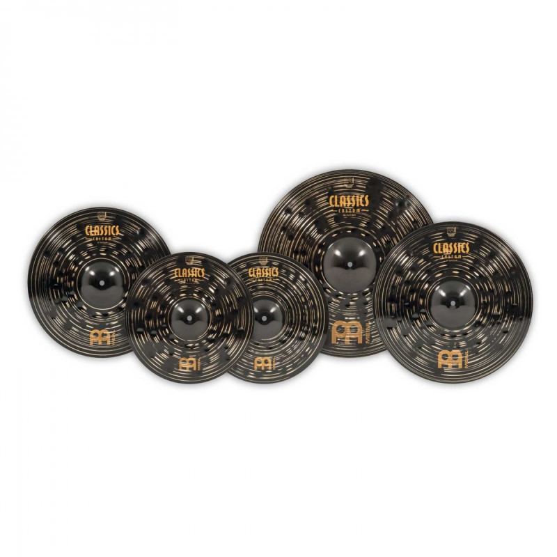 Meinl Classics Custom Dark Cymbal Box Set with Free 18in Crash