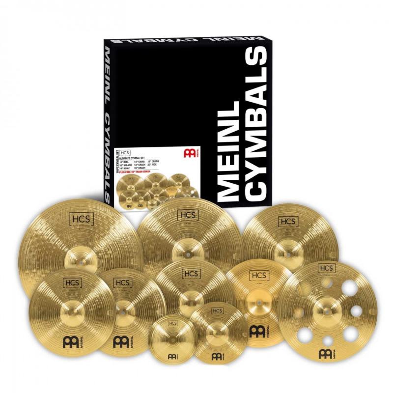 Meinl HCS Ultimate 9pc Cymbal Set