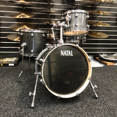 Natal Arcadia 18in 4pc Shell Pack, Grey Strata – Pre-owned