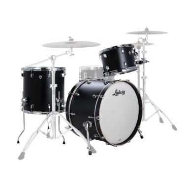 Ludwig Neusonic Series FAB 22in 3pc Shell Pack – Black Velvet
