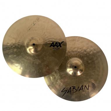 Sabian AAX 15in Medium Hats – Pre-owned
