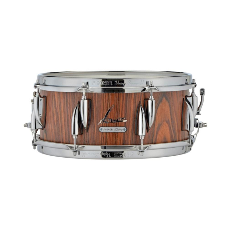 Sonor Vintage Series 13x6in Snare Drum – Rosewood Semi Gloss