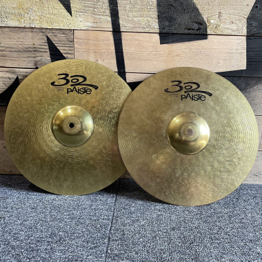 Paiste 302 14in Hi-hat Cymbals – Pre-owned