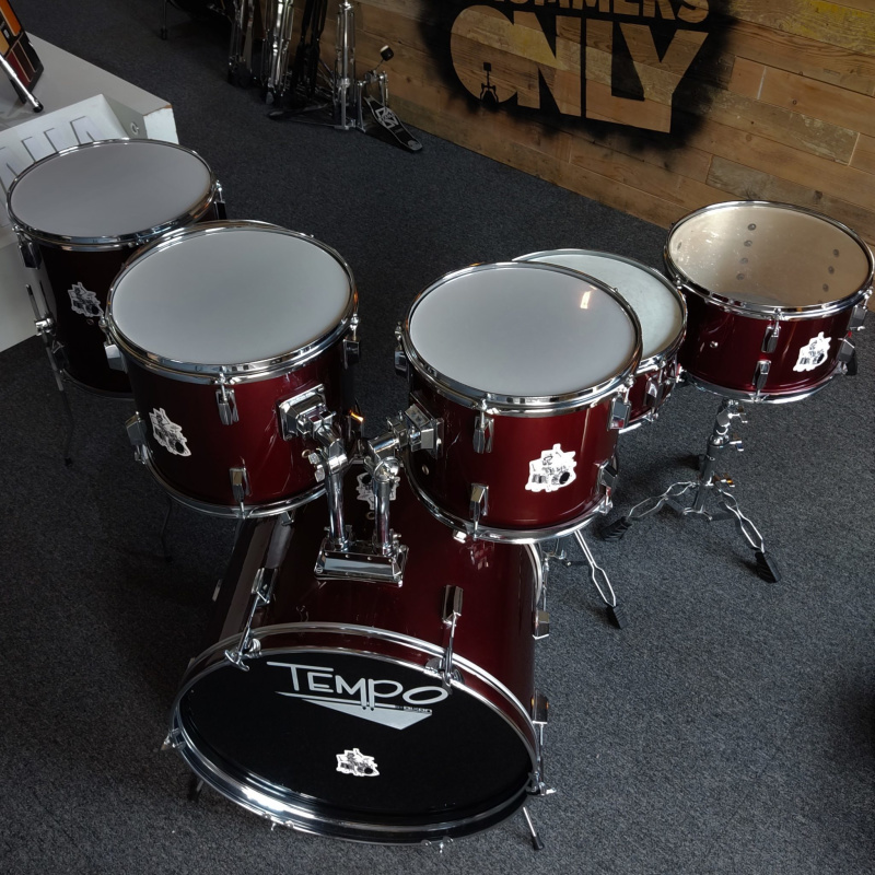 Dixon Tempo 7pc Shell Pack – Wine Red – Pre-owned