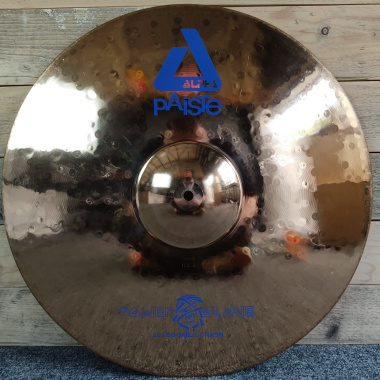 Paiste Alpha 20in Boomer Crash Cymbal – Nicko McBrain Signature -Pre-owned