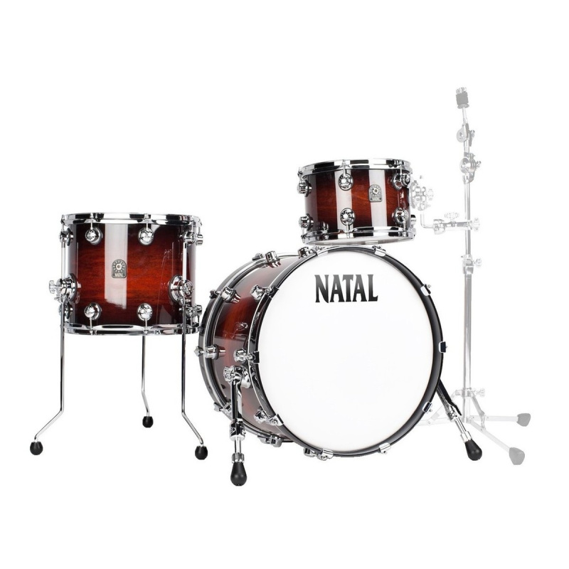 Natal Cafe Racer 18in 3pc Shell Pack – Limited Edition Exotic Finish