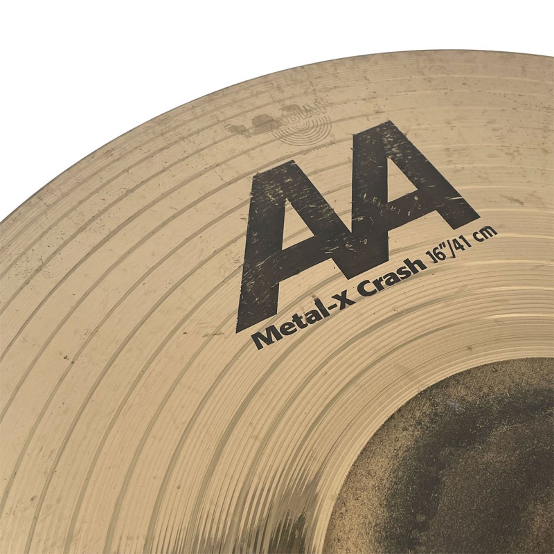 Sabian AA 16in Metal X Crash – Pre-owned