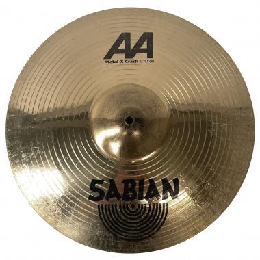 Sabian AA 17in Metal-X Crash – Pre-owned