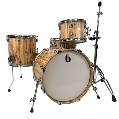 British Drum Co. Legend 20in 4pc Shell Pack, Spalted Beech – Pre-owned