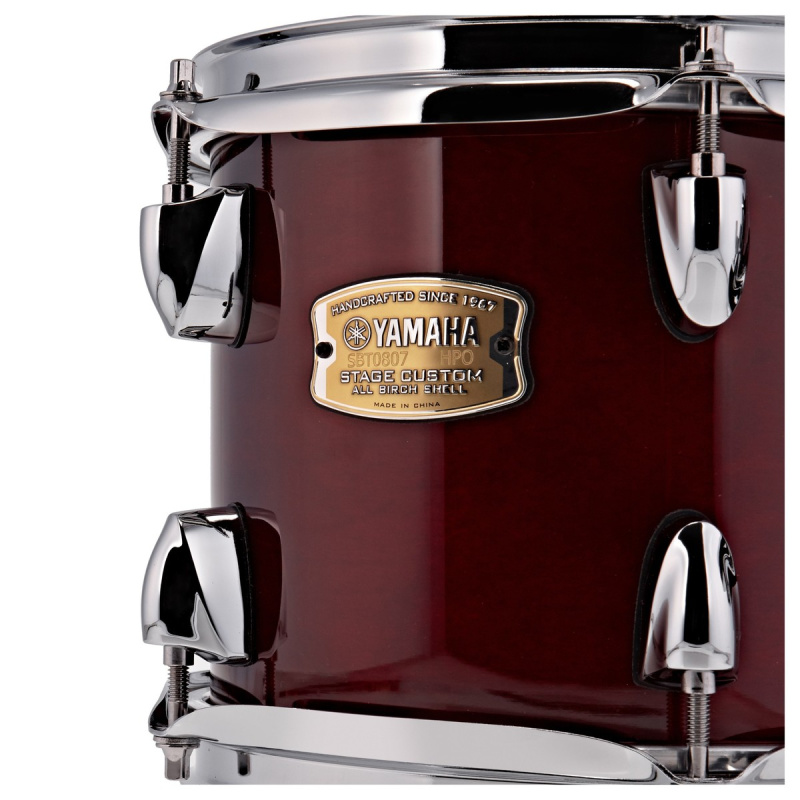 Yamaha Stage Custom 8x7in Tom – Cranberry Red