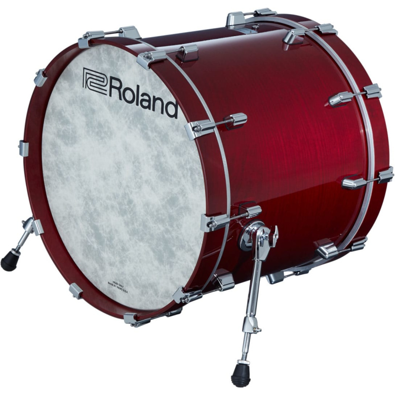 Roland VAD 22in V-Drums Kick Drum Pad – Gloss Cherry