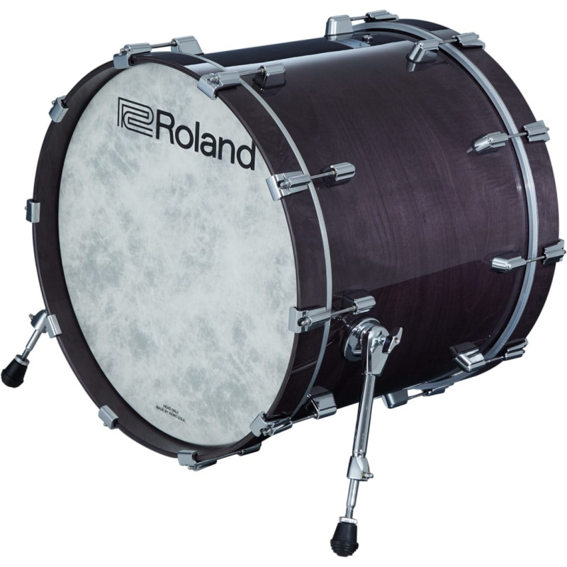 Roland VAD 22in V-Drums Kick Drum Pad – Gloss Ebony
