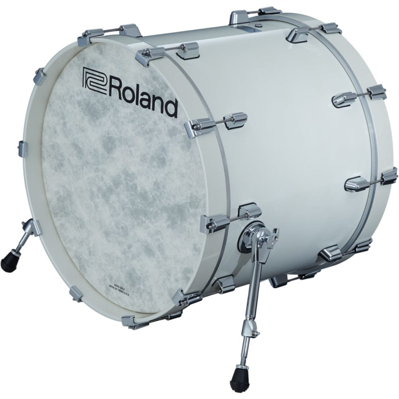 Roland VAD 22in V-Drums Kick Drum Pad – Pearl White