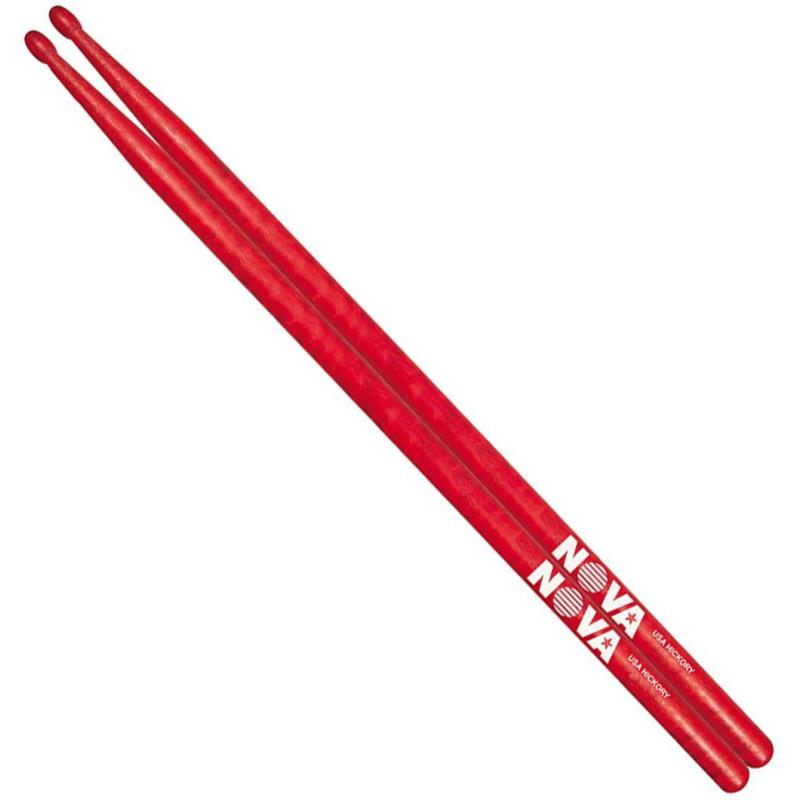 Vic Firth Nova RED Hickory 5A Sticks – Wood Tip