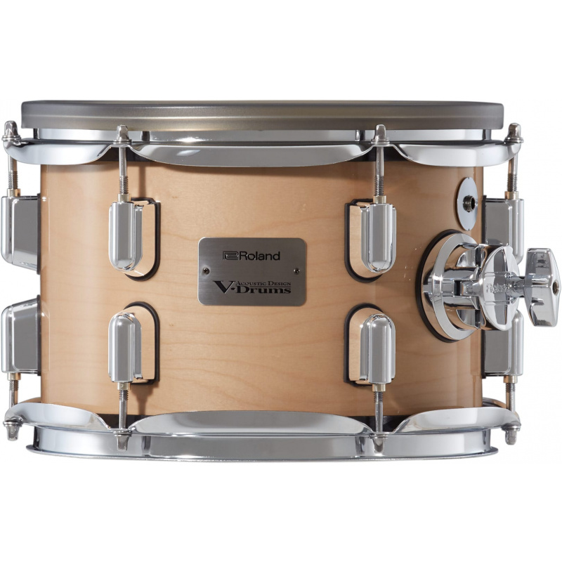Roland VAD 10in V-Drums Tom Pad – Gloss Natural