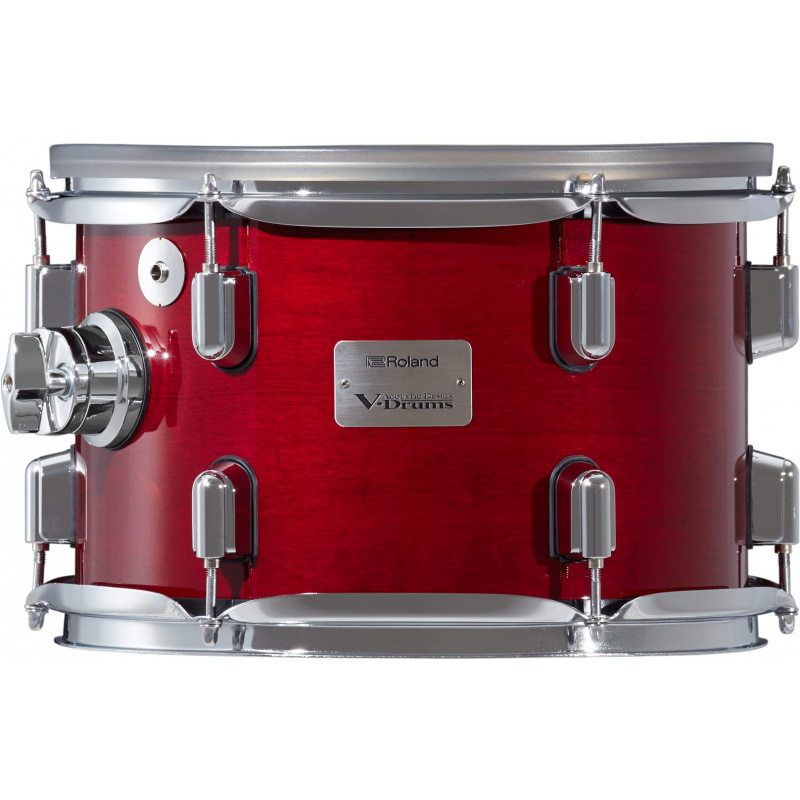 Roland VAD 12in V-Drums Tom Pad – Gloss Cherry