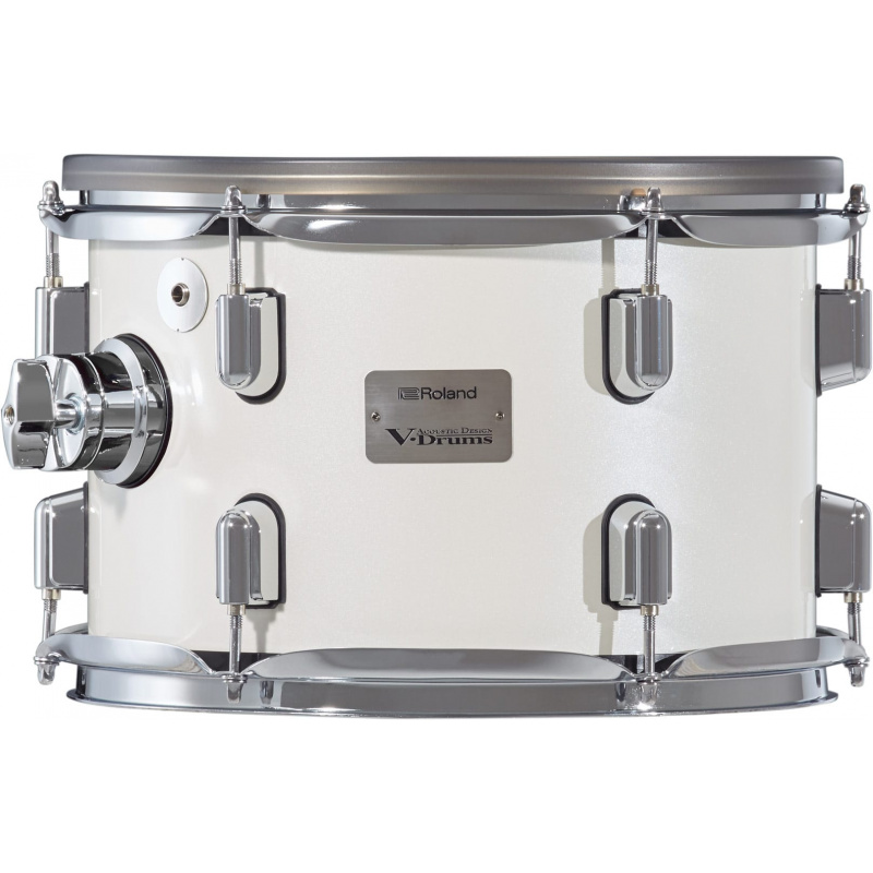 Roland VAD 12in V-Drums Tom Pad – Pearl White