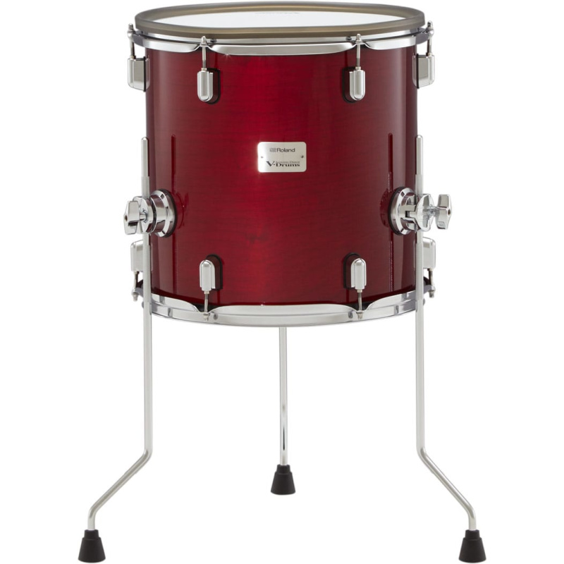 Roland VAD 14in V-Drums Tom Pad – Gloss Cherry