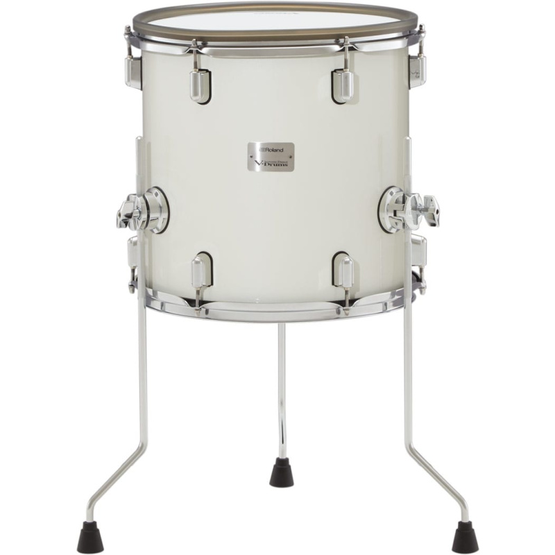 Roland VAD 14in V-Drums Tom Pad – Pearl White