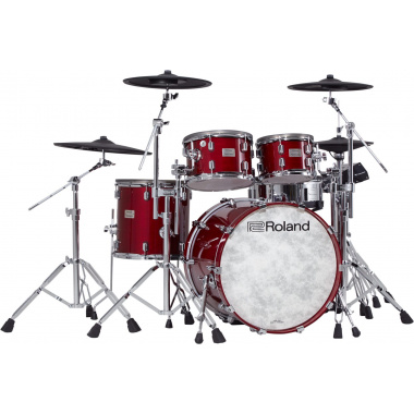 Roland VAD706 V-Drums Acoustic Design Electronic Kit – Gloss Cherry