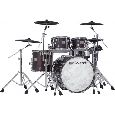 Roland VAD706 V-Drums Acoustic Design Electronic Kit – Gloss Ebony