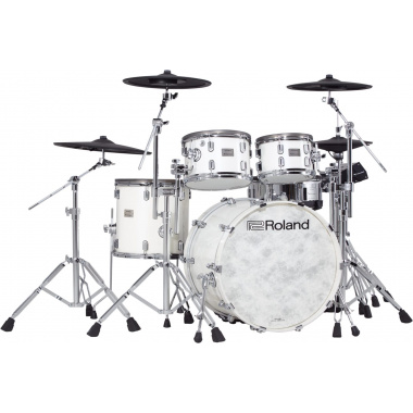 Roland VAD706 V-Drums Acoustic Design Electronic Kit – Pearl White