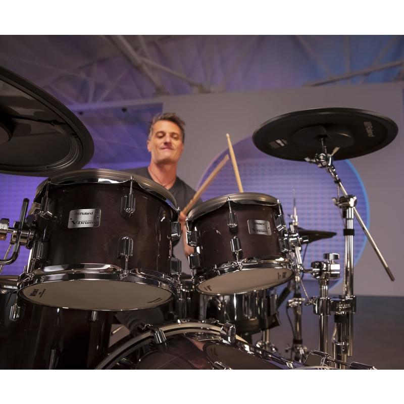 Roland VAD706 V-Drums Acoustic Design Electronic Kit – Gloss Natural